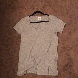 NWOT PINK Scoop Neck Shirt